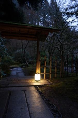 Andon in Portland Japanese Garden 001